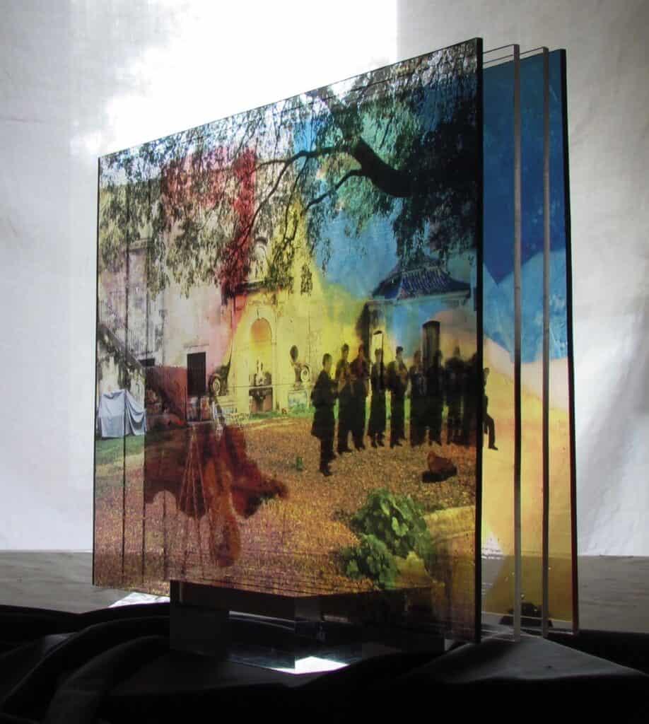 Clear Transparency Film - Multi Print Samples