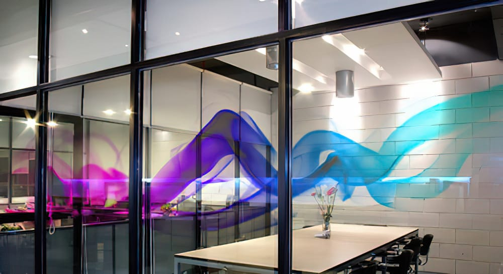 Clear Window Cling - Conference Room